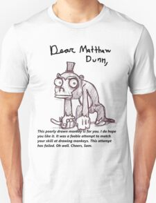 Dear Matthew Dunn, T-Shirt
