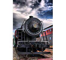 Locomotive in HDR Photographic Print