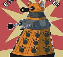 Orange Dalek by NeroStreet