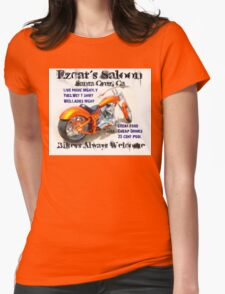 Ezcat's Saloon Womens Fitted T-Shirt