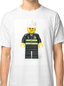 Fireman Minifig Classic T-Shirt