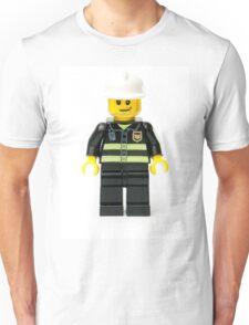 Fireman Minifig Unisex T-Shirt