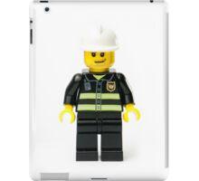Fireman Minifig iPad Case/Skin