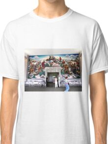 Mural, Temple of the Community of Christ, Independence, Missouri USA Classic T-Shirt