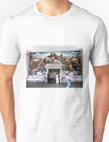 Mural, Temple of the Community of Christ, Independence, Missouri USA Unisex T-Shirt