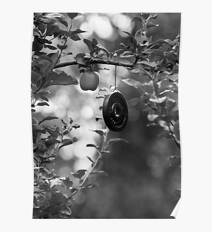 Apple and Weight Tree Poster