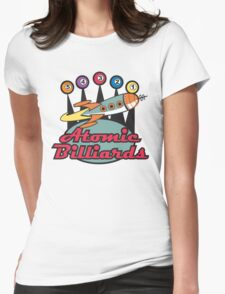 Vintage T-Shirts Billiards Womens Fitted T-Shirt