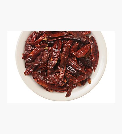 Indian Red Hot Peppers Photographic Print