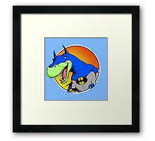 Bat-Rex Framed Print