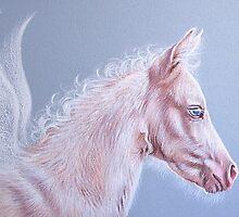 Pinky - Pegasus foal by Elena Kolotusha