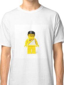 Yellow spaceman with his visor up Classic T-Shirt