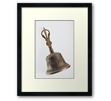 Buddha's Temple Bell Framed Print