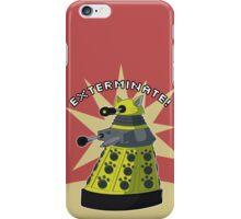 Yellow Kitty Dalek iPhone Case/Skin