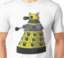 Yellow Kitty Dalek Unisex T-Shirt