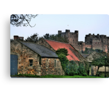 """""""Of Castles and Cottages"""" Canvas Print"""
