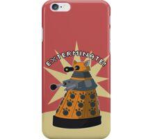 Orange Dalek iPhone Case/Skin