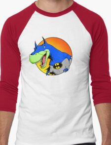 Bat-Rex Men's Baseball ¾ T-Shirt