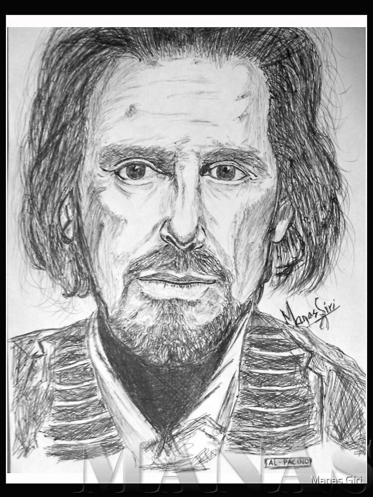 Al Pacino by Manas Giri