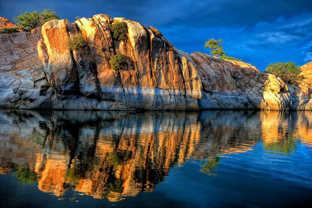 Big Rock Reflect by Bob Larson