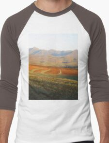 an unbelievable Somalia landscape Men's Baseball ¾ T-Shirt