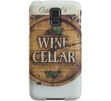 winery/grapes design  Samsung Galaxy Case/Skin