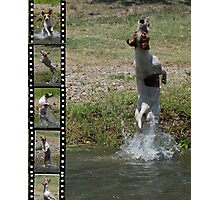 Splashing About Photographic Print