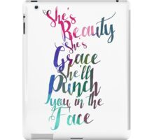 Beauty and Grace iPad Case/Skin