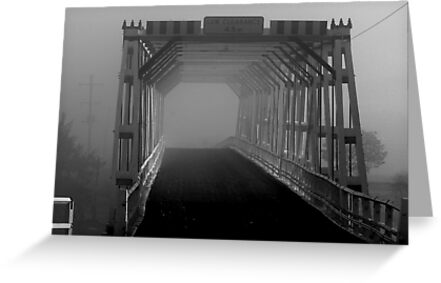 A Ghosty Crossing - NSW (B&W)  by CasPhotography