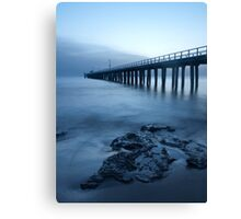 Shades of blue Canvas Print