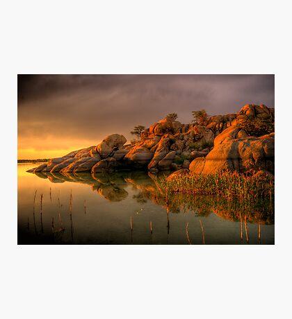 Willow Rock Photographic Print