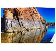 Watson Big rock Reflect Poster