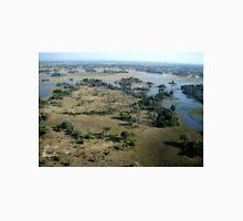 Aerial of Okavango Delta, Botswana,  (2) Unisex T-Shirt