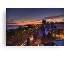 New Plymouth Sunrise Canvas Print