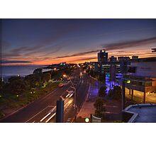 New Plymouth Sunrise Photographic Print