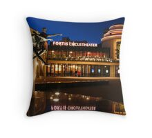 The Hague by night  Throw Pillow