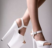 Platform Heels by Man kit Wong