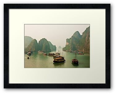 Ha Long Bay by Nickolay Stanev