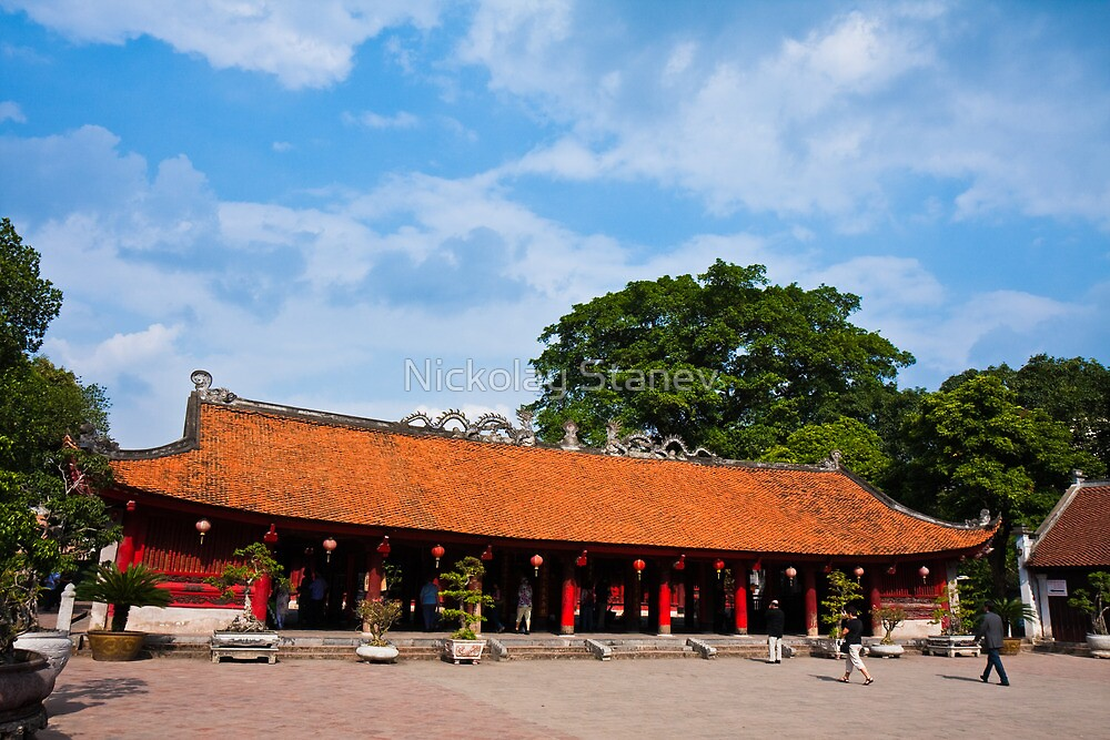 Temple of Literature by Nickolay Stanev