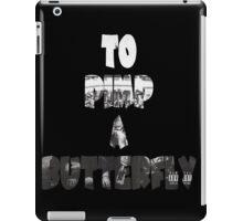 Kendrick Lamar To Pimp A Butterfly iPad Case/Skin