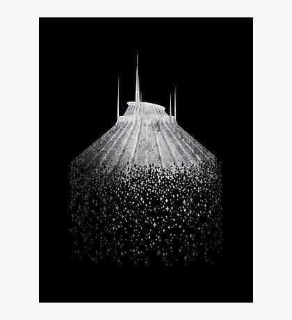 Blast to Space Mountain Photographic Print