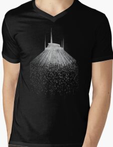 Blast to Space Mountain Mens V-Neck T-Shirt