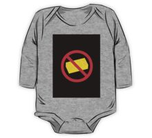 "Road Traffic Sign ""NO BRICK"" One Piece - Long Sleeve"