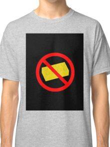 """Road Traffic Sign """"NO BRICK"""" Classic T-Shirt"""