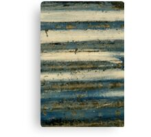 Lines ~ Metal in Abstract Canvas Print
