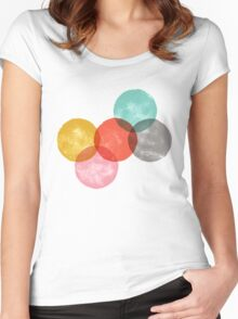 drops/2 Women's Fitted Scoop T-Shirt