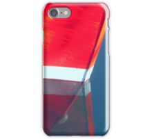 Fishing boat reflections iPhone Case/Skin