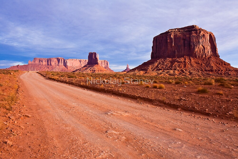 Monument Valley Road by Nickolay Stanev