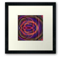 Swirly Gig. Framed Print