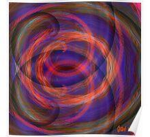 Swirly Gig. Poster