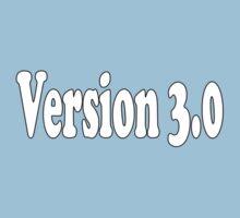 Version 3 T-Shirt 3.0 Clone Sticker Baby Shower Jumpsuit One Piece - Short Sleeve